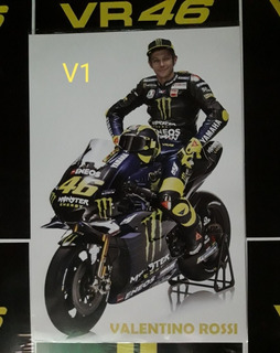 Poster O Afiche De Valentino Rossi 47x32 Alta Resolucion.