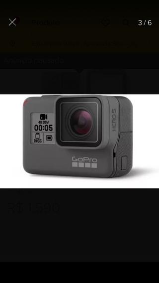 Câmera Go Pro 5 Black Completa Filma 4k