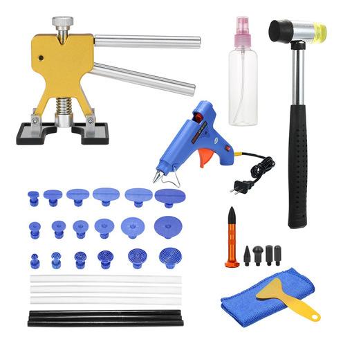 Imagen 1 de 9 de Kit De Herramientas De Reparación De Abolladuras, Extractor
