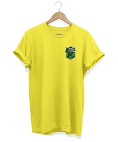 Camiseta Feminina Baby Look Harry Potter Sonserina