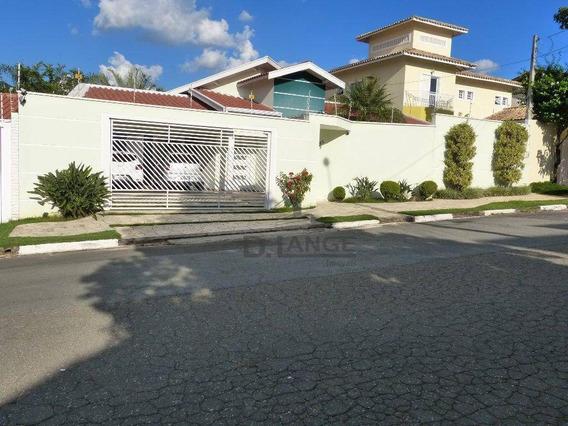 Casa Com 3 Dormitórios À Venda, 213 M² Por R$ 1.000.000 - Parque Taquaral - Campinas/sp - Ca12928