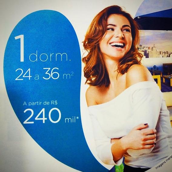 Apartamento 240 Mil (minha Casa, Minha Vida) - 24 M²