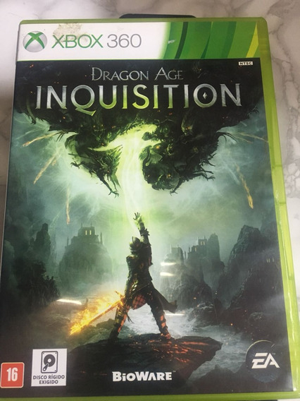 Jogo Seminovo Dragon Age Inquisition Para Xbox 360