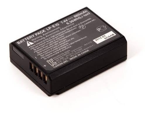 Bateria Lp-e10 Para T3/t5/t6/t7/t100 Com Nota Fiscal
