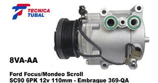 Compresor Ford Focus/mondeo Sc90 6pk