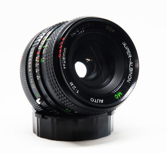 Lente Canon Fd 28mm 1:2.8 Macro