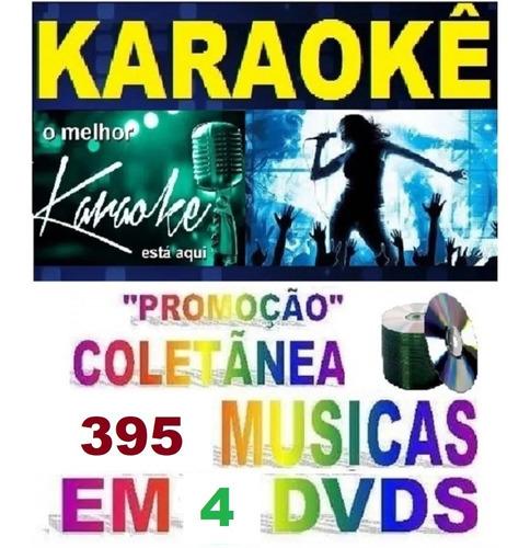 Imagem 1 de 3 de 4 Dvds Pop Rock/hits, Axé/pagode, Mpb, Sertanejo. Karaoke