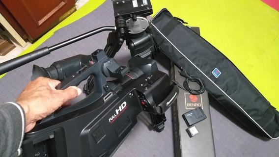 Filmadora Panasonic Fullhd (kit Videomaker)