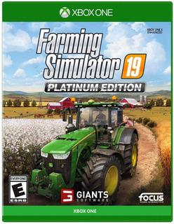 Farming Simulator 19 Platinum Edition Para Xbox One