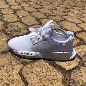 Tênis adidas Nmd Runner R1 Branco (promoção) Unissex/corrida