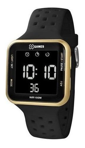 Relógio Masculino Esportivo Digital Preto Xgames Xgppd093