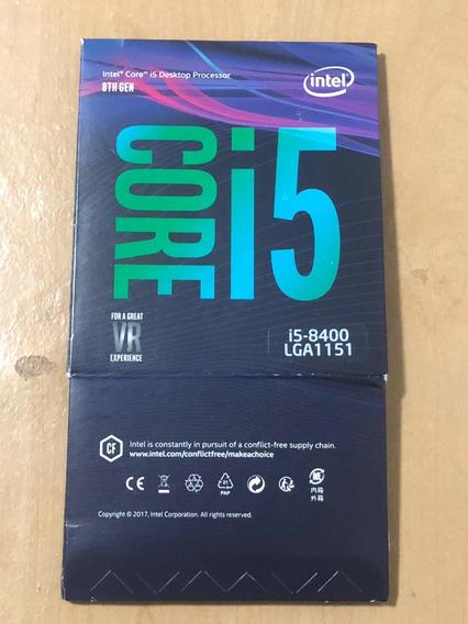 Caixa Do Processador I5 8400 (frete Incluso)
