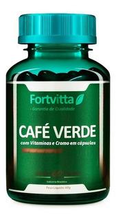 1 Café Verde (rejuvenecedor) Fortvitta - 60 Caps / 600mg