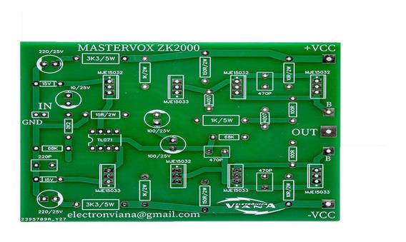 2 Placa Para Montar Amplificador 1600w Rms Com C5200 E A1943