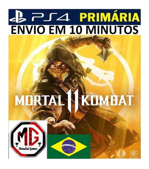 Mortal Kombat 11 Ps4 - Original 1 - Português Br