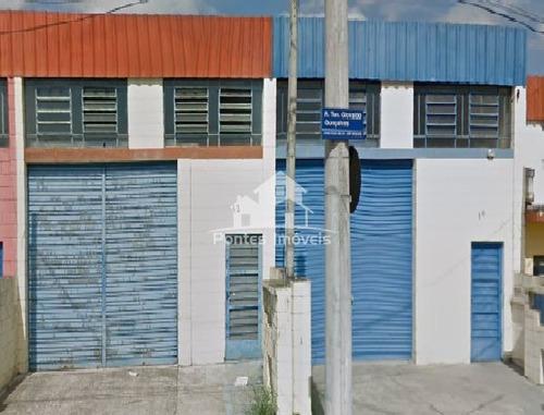 Imagem 1 de 9 de Galpão 100m² C/banheiro No Bairro Jardim Primavera-sorocaba-sp - Gal18