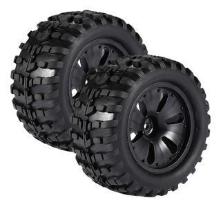 1/10 Rc Escalada Coche Monster Truck Ruedas Neumáticos