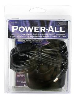 Power All - Alimentador De Corriente Para Pedales De Efecto
