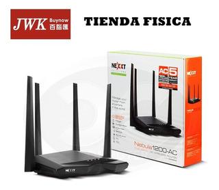 Router Nexxt Nebula 1200 Mbps Ac Dual Band 4 Antenas Jwk