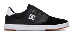 Tênis Dc Shoes Plaza Tc Preto-black/white/gum (bw6) Oferta