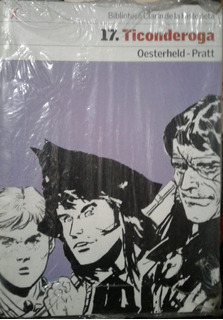 Ticonderoga (historieta 17) - Oesterheld / Pratt *