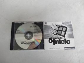 Cd Microsoft Windows 98 E Windows 98 O Início - Original
