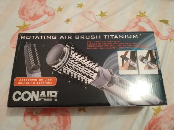 Escova Polishop Rotating Air Brush Tiranium