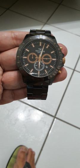 Relógio Technos Cronógrafo Caixa Em Cerâmica