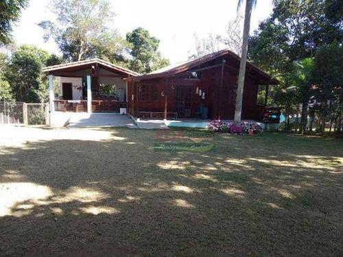 Sítio Com 3 Dormitórios À Venda, 5000 M² Por R$ 530.000 - Taiacupeba - Mogi Das Cruzes/sp - Si0134