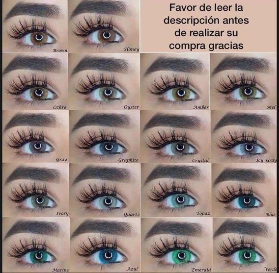 1 Par De Pupilentes Meetone Hidrotone 18 Colores Disponibles