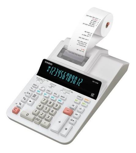 Calculadora Casio Impresión Dr-120r-we