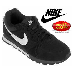 Tênis Nike Runner 2 Preto Branco Original