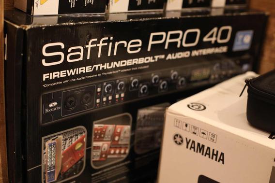 Saffire Pro 40 Interface De Audio. Novo Na Caixa