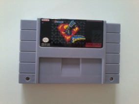 The Death And Return Of Superman (snes) Frete R4 10,00