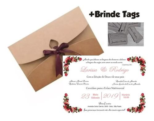 Imagem 1 de 5 de 40 Convites De Casamento Rusticos Vários Modelos Personaliz