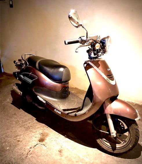 Motocicleta Sym Allo 150c Retro