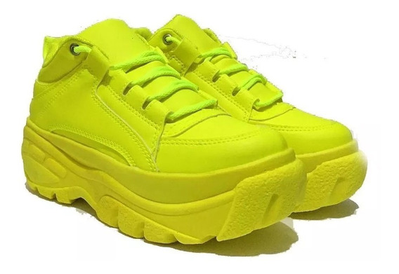 Tênis Sneaker Buffalo Plataforma Todas As Cores Envio Hoje