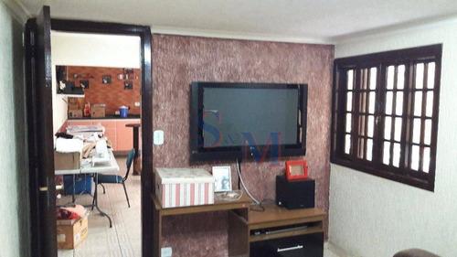 Imagem 1 de 30 de Casa Residencial À Venda, Parque Novo Oratório, Santo André. - Ca0092