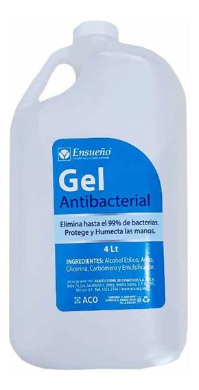 Alcohol Gel Antibacterial Al 75% Concentrado 4l Galón