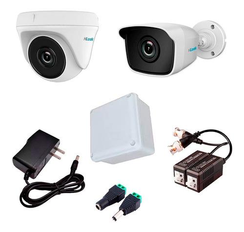 Cámaras Hikvision Hilook 1080p Domo Y Bala 4 En 1 Accesorios