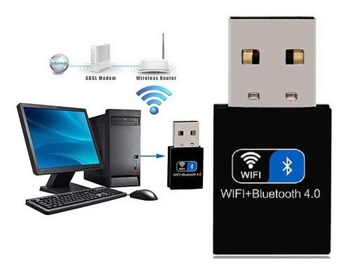 Adaptador Placa D Red Usb Wifi 150mb, 2.4ghz+ Bluetooth V4.0