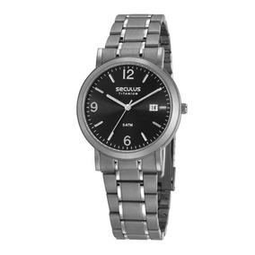 Relógio Seculus Masculino 23637g0svnt2