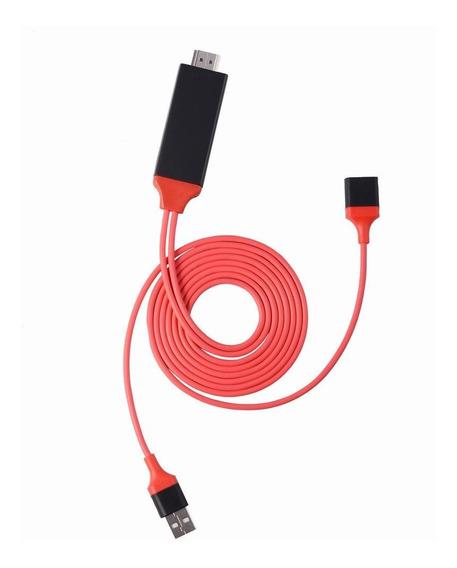 Plug And Play Ligthning Para Cabo Hdmi Adaptador Av Digital