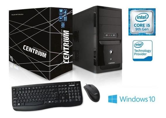 Computador Desktop Linux Centrium I5-9400f Ssd 120gb 4gb Nf