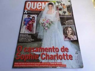 Revista Quem Acontece O Casamento De Sophie Charlotte - 2015