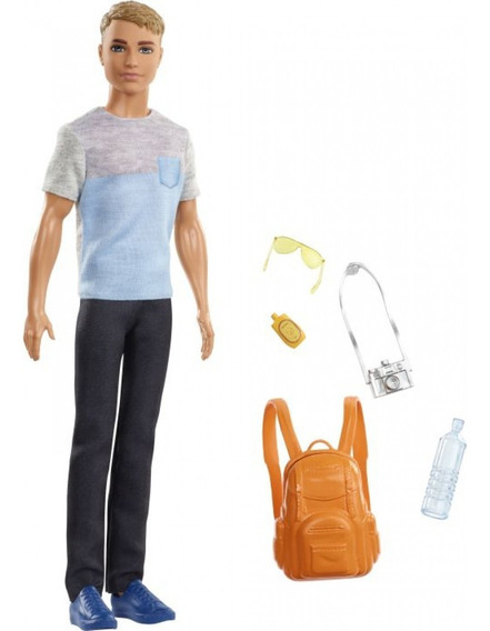 Barbie - Boneco Ken Explorar E Descobrir Mattel