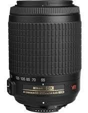 Nikon 55-200mm F/ 4-5.6g Ed Vrii Afs Dx