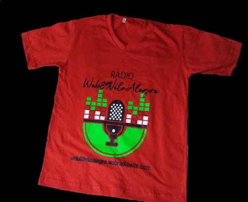Camisa Oficial Rádio Web89vilaalegre