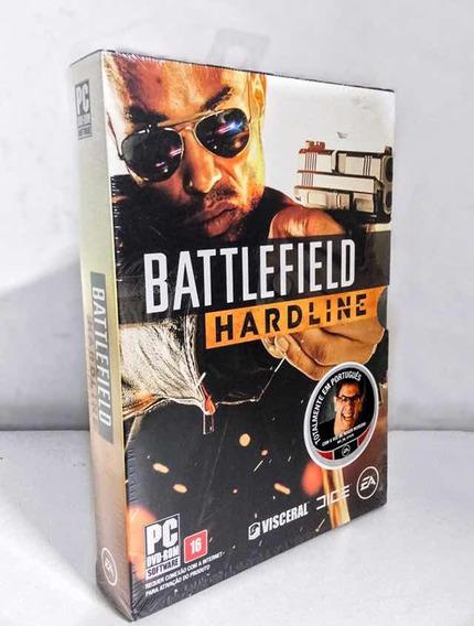 Jogo Para Pc Battlefield Hardline - Midia Fisica