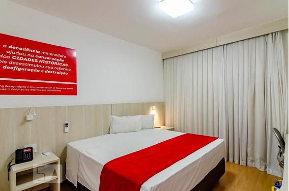 Apartamento No 10º Andar Mobiliado Com 1 Dormitório - Id: 892988779 - 288779